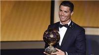 Không thể không ngưỡng mộ Ronaldo - Quả Bóng Vàng 2017!