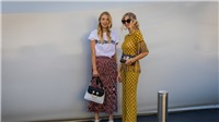 Ciao, Bella! Ngắm nhìn những street style ấn tượng nhất Tuần lễ thời trang Milan 2017