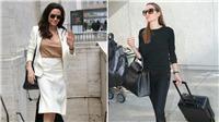 Bí quyết tạo nên phong cách thời trang dạo phố 'chất' như Angelina Jolie