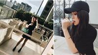 Street style đen toàn tập cực chất của sao Việt những ngày qua