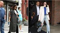 Áo khoác đã bắt đầu xuất hiện trong street style mùa Thu của Kendall Jenner và Selena Gomez