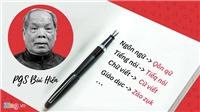 PGS-TS Hoàng Dũng: 'Cách cải tiến tiếng Việt của ông Bùi Hiền là bấp bênh'