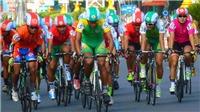 Quàng Văn Cường thắng chặng đầu tiên Tour xe đạp về nông thôn An Giang 2017