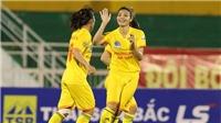 Thắng Sơn La 8-0, Phong Phú Hà Nam lại đánh chiếm ngôi đầu giải bóng đá nữ VĐQG 2017