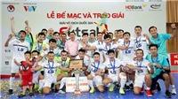 Thái Sơn Nam nhận Cup vô địch giải futsal VĐQG 2017