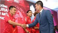 Công Vinh và HLV Miura đặt mục tiêu TOP 3 V-League 2018