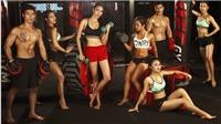 Hoa khôi Lan Khuê làm giám khảo cuộc thi thể hình quốc tế Muscle Contest