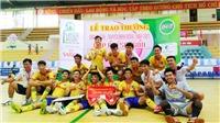 Khí Cà Mau vô địch giải Futsal Truyền hình Đồng Tháp 2017