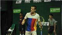Tay vợt từng thắng Federer không có đối thủ ở Việt Nam