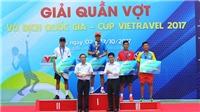 Vắng Hoàng Nam, Minh Tuấn không có đối thủ ở giải quần vợt VĐQG 2017