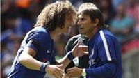 Conte tiếp tục trừng phạt David Luiz khiến Real vào cuộc