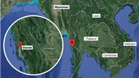 MỚI: Tìm thấy 15 người sống sót trên máy bay quân sự Myanmar gặp nạn