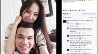 Khắc Việt công khai bạn gái 9X, Tuấn Hưng nhắn 'cưới nhé, đừng đùa'