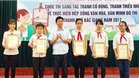 Bắc Giang 'bội thu' tác phẩm đẹp về văn minh đô thị của các em thiếu nhi