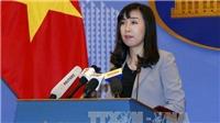 Việt Nam phản đối tuyên bố huấn luyện bắn đạn thật tại Hoàng Sa của Trung Quốc