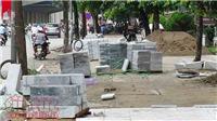 Chủ tịch Hà Nội Nguyễn Đức Chung chỉ đạo thanh tra việc lát đá vỉa hè