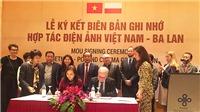 Việt Nam - Ba Lan sẽ hợp tác đồng sản xuất và đào tạo điện ảnh