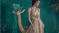 Lan Khuê biến hóa 'quý cô sang chảnh' trong BST 'Đêm ngàn sao' của Audrey Hiếu Nguyễn
