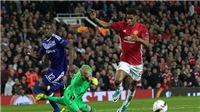 Những pha bỏ lỡ KHÔNG THỂ TIN NỔI của Man United trước Anderlecht