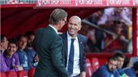 HLV Tony Adams của Granada đưa ra yêu cầu không thể tin nổi với Zidane