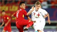 U20 Việt Nam tập đệm lòng sau pha bỏ lỡ cơ hội mười mươi của Hoàng Đức