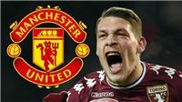 Nhờ 'siêu cò' Mendes, Man United sắp có Belotti với giá 70 triệu bảng