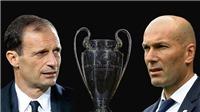 Zidane: 'Ngoài phòng ngự, Juve còn tấn công rất giỏi'. Allegri: 'Juve bây giờ khác năm 2015'