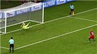 Bồ Đào Nha 0-0 Chile (pen 0-3): Bravo cản 3 quả 11m, Ronaldo bất lực nhìn Chile vào Chung kết