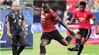 ĐIỂM NHẤN LA Galaxy 2-5 Man United: Lukaku sẽ phải cạnh tranh với Rashford. M.U có khởi đầu suôn sẻ
