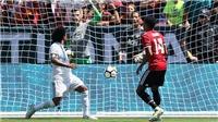 Real Madrid 1-1 (pen 1-2) Man United: Martial solo ngoạn mục, M.U thắng sau loạt đấu súng 'siêu tệ'