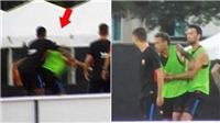 Vụ Neymar xô xát với Semedo: Đồng đội choảng nhau trên sân tập là... bình thường!