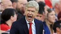 HLV Arsene Wenger và toàn văn buổi họp báo chỉ diễn ra đúng... 130 giây