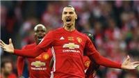 CHUYỂN NHƯỢNG M.U 23/8: Lộ số áo của Ibra tại M.U. Nhà cái tin 'Quỷ đỏ' sẽ hớt tay trên Arsenal
