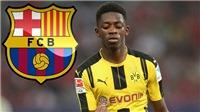 CẬP NHẬT tối 6/8: Barca đạt thỏa thuận với Dembele. Arsenal dẫn đầu cuộc đua giành Lucas Moura