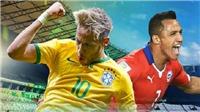Brazil có thể 'bắt tay' Chile để loại Argentina khỏi World Cup