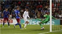 Video clip highlights bàn thắng trận Liechtenstein 0-8 Tây Ban Nha