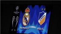 Link xem trực tiếp trận Real Madrid - APOEL (01h45, ngày 14/9)