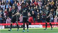 Video clip highlights bàn thắng trận Stoke 2-2 Man United