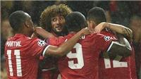 ĐIỂM NHẤN M.U 3-0 Basel: Fellaini hay nhất trận. Lukaku cực nguy hiểm. Basel quá yếu