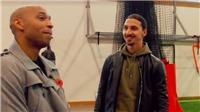 Ibrahimovic khiến Henry ngỡ ngàng với phát biểu không ngờ