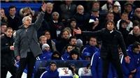 HỌ ĐÃ NÓI, Mourinho: 'Tôi không thể đuổi theo để bắt tay', Conte: 'Tôi chỉ thể hiện sự tôn trọng trên sân'
