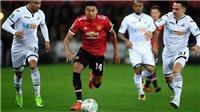 Mourinho đừng để Lingard mãi là chuyên gia đá Cúp của M.U