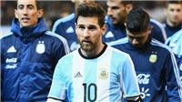 Messi: 'Nói tôi thao túng đội tuyển Argentina là hoàn toàn dối trá'