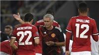 Mourinho: 'Mkhitaryan đá như tàng hình nên mất chỗ. Chuyện đơn giản thế thôi'