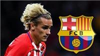 Barca có thể lại bị cấm chuyển nhượng vì tiếp cận Griezmann trái phép