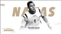Keylor Navas giành giải Cầu thủ nam xuất sắc nhất năm khu vực CONCACAF