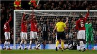 Bàn thua của M.U trước CSKA Moskva gây tranh cãi dữ dội