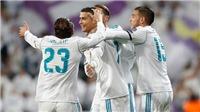 Video clip bàn thắng Real Madrid 5-0 Sevilla