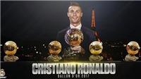 Cristiano Ronaldo giành Quả bóng Vàng 2017, cân bằng kỷ lục của Messi