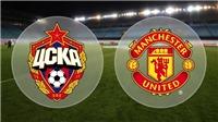 Link xem trực tiếp trận M.U - CSKA Moskva (02h45, ngày 6/12)